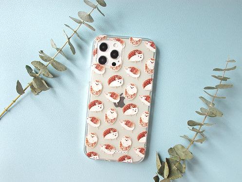 Hedgehog Transparent Phone Case