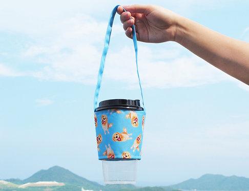 Kiki Golden Retriever Bubble Tea Carrier