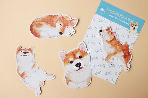 Kelly Shiba Inu Stickers