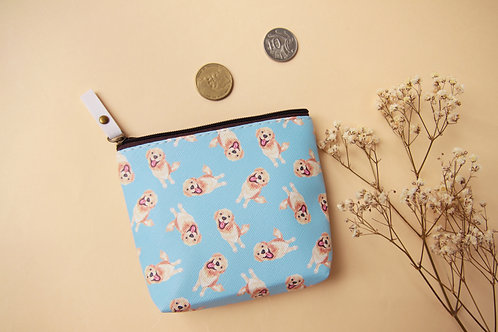 Kiki Golden Retriever Coin Bag