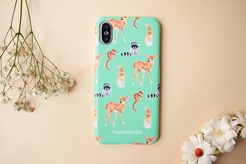 Grassland Animal Phone Case (Rabbit Deer Racoon Chipmunk)