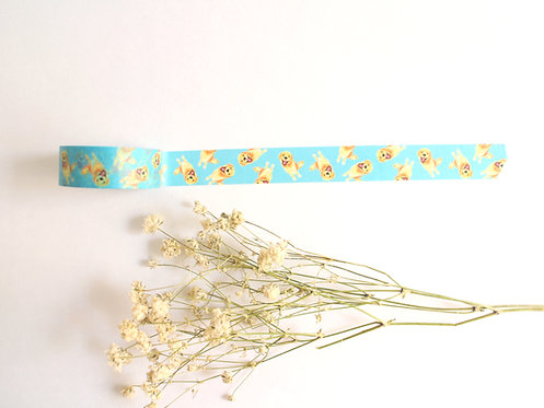 Kiki Golden Retriever Washi Tape/ Masking Tape