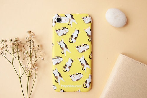 Syrup Cat Phone Case in Yellow