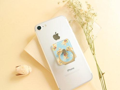 Kiki Golden Retriever Phone Ring Holder