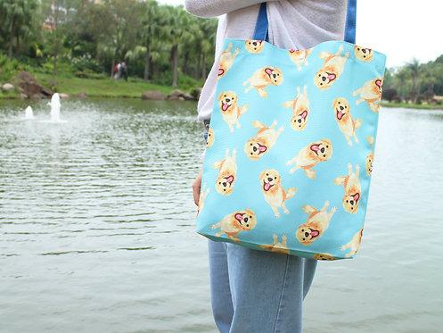 Kiki Golden Retriever Tote Bag