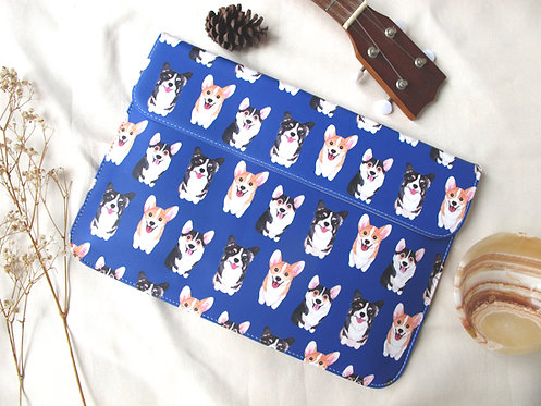 Bau Bau Corgi Laptop Bag