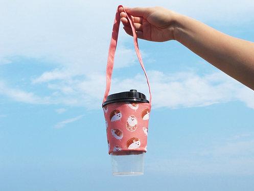 Hedgehog Bubble Tea Carrier
