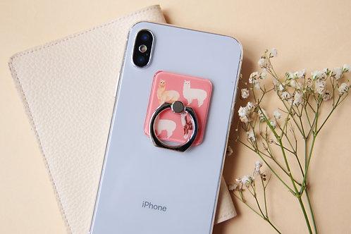 Alpaca Phone Ring Holder