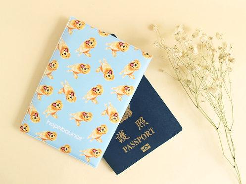 Kiki Golden Retriever Passport Holder