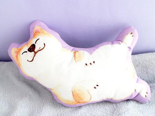 Kelly Shiba Inu Plush Pillow