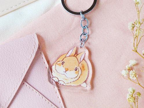 Toffee Rabbit Keychain