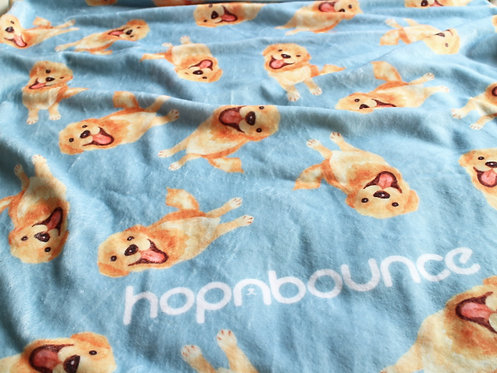 Kiki Golden Retriever Blanket