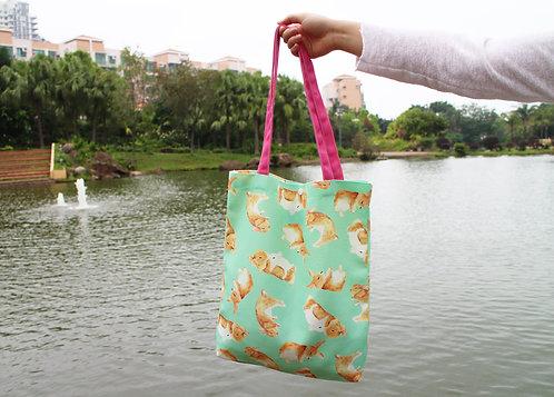Toffee Rabbit Tote Bag