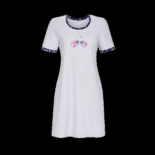 Ringella Chemise de nuit femme avec imprimé motif