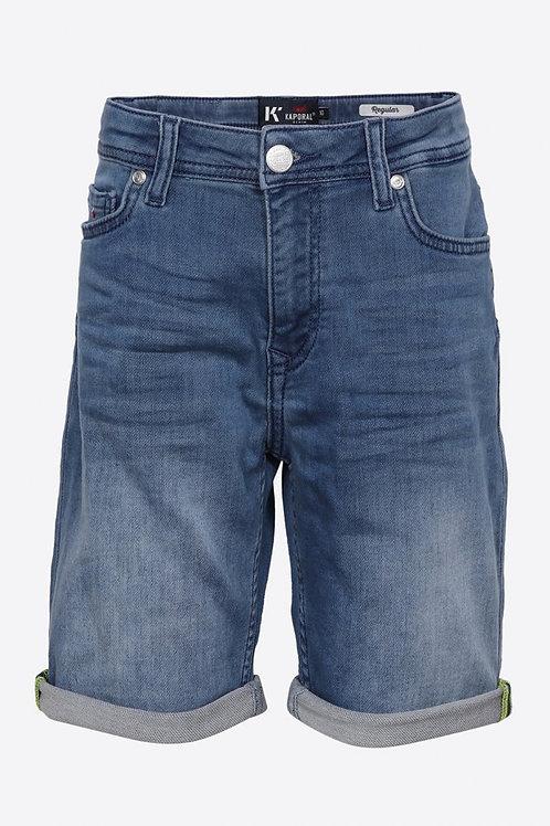 KAPORAL Short en jean régular bleu délavé Garçon