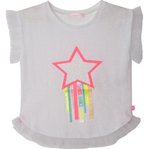 Billieblush T-shirt sans manche à volants