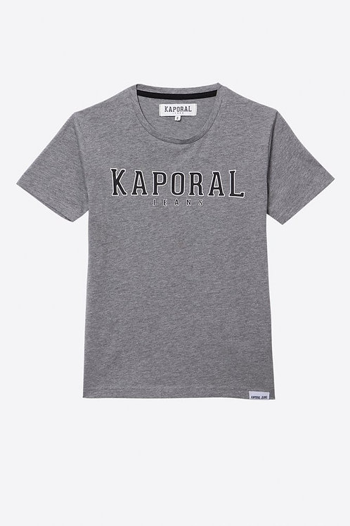 KAPORALT-shirt régular gris Garçon imprimé en relief