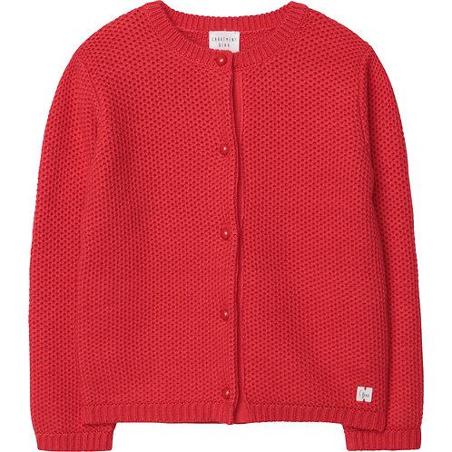 CARREMENT BEAU Cardigan en tricot fantaisie