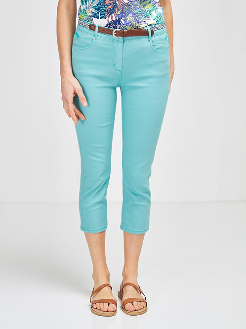 DIANE LAURY Pantalon 7/8 en tissu stretch léger