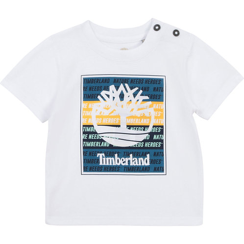 TIMBERLAND T-shirt fantaisie en coton bio