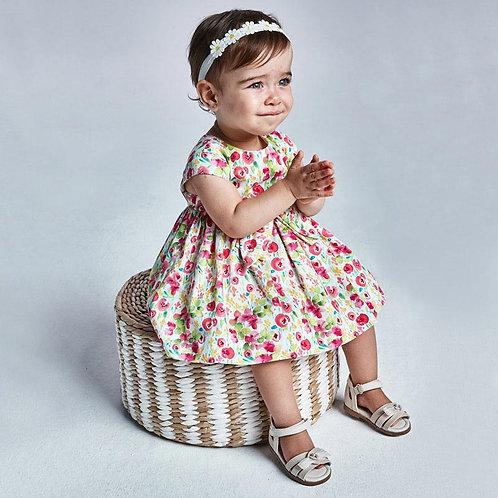 MAYORAL Robe imprimée fleurs bébé fille
