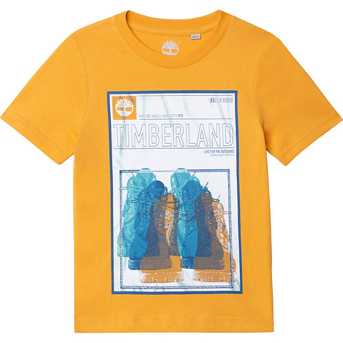 Timberland T-shirt en jersey 100 % coton