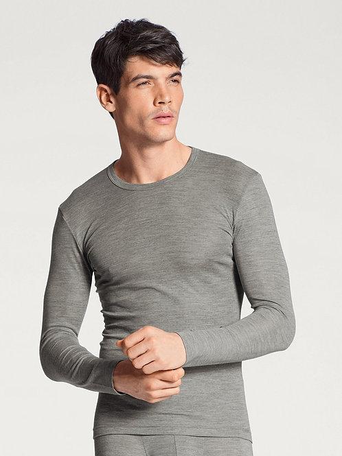 CalidaT-shirt à manches longues laine et soie