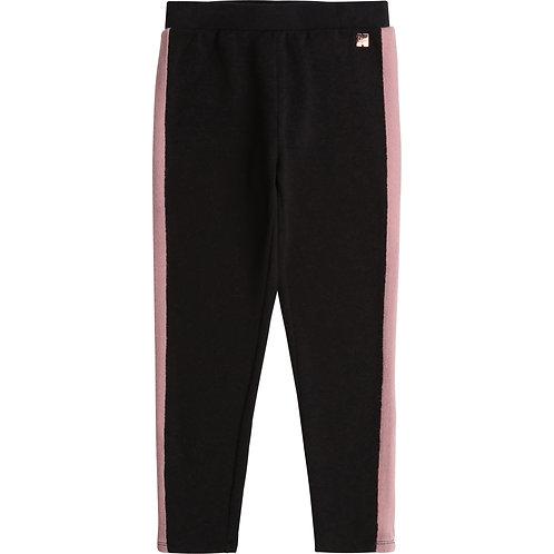 CARREMENT BEAU Pantalon en coton molleton
