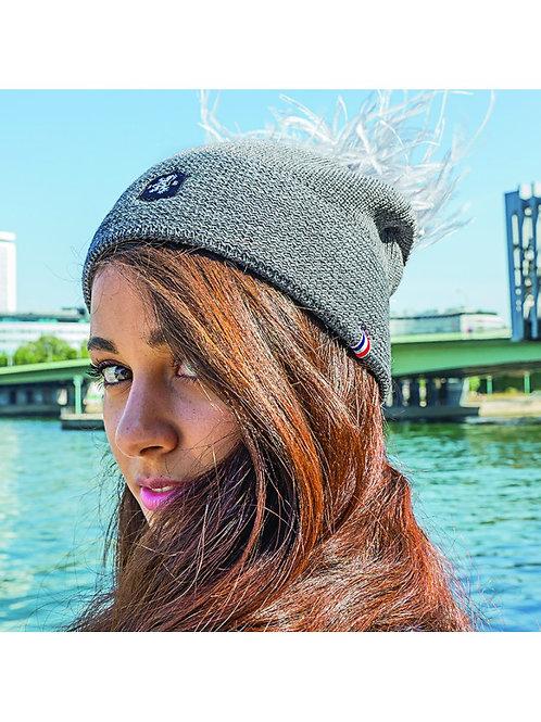 BLANC BONNET  bonnet modèle femme fabriqué en France