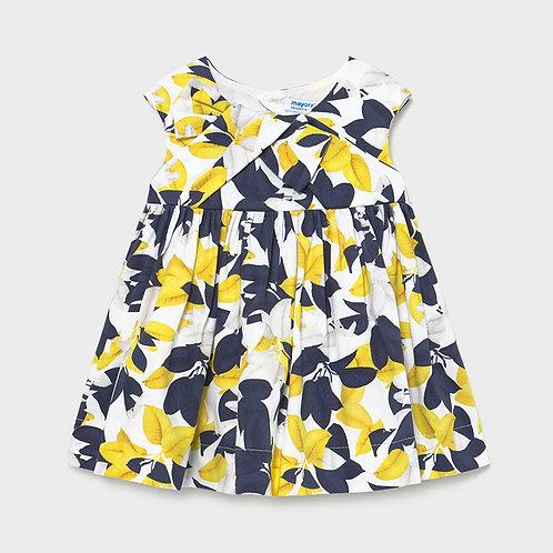 MAYORAL Robe satin imprimée bébé fille