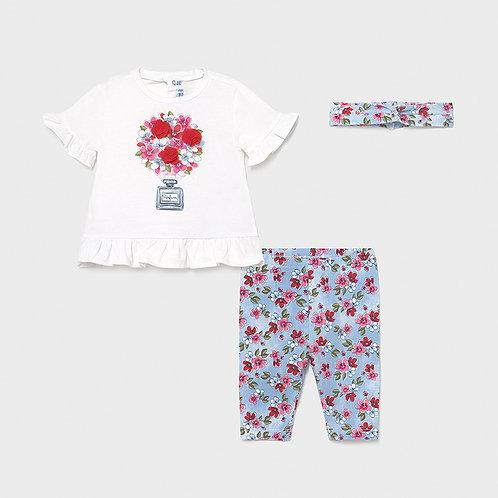 MAYORAL Ensemble leggings effet jean bébé fille