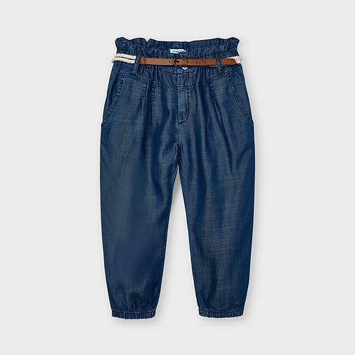 MAYORAL Pantalon long fluide ceinture Ecofriends fille