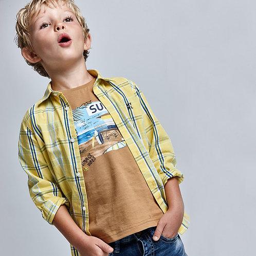 MAYORAL T-shirt Surf coton durable Ecofriends garçon