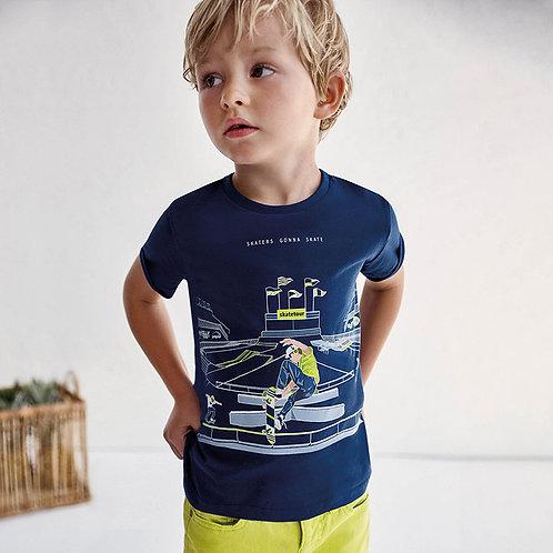 MAYORAL T-shirt PLAY WITH Glows in the dark coton Ecofriends garçon