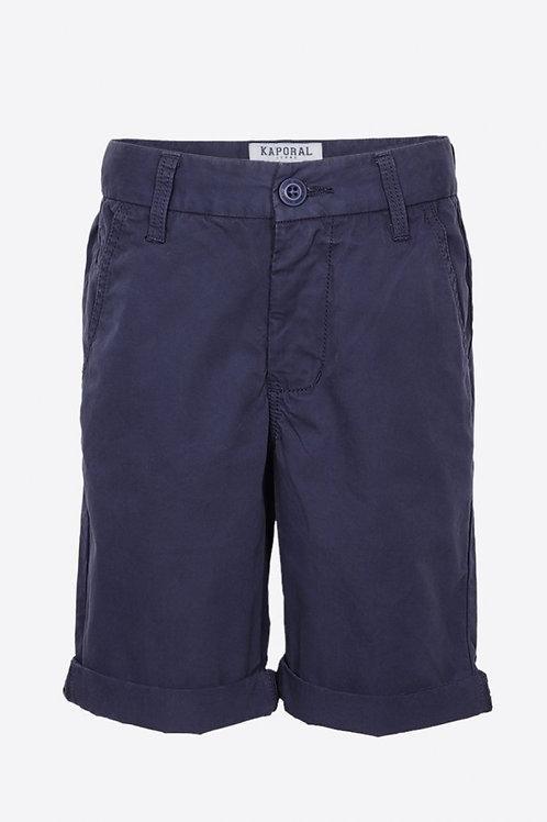 KAPORAL Short chino régular bleu Garçon en 100% coton ››