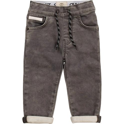 TIMBERLAND Pantalon denim effet molleton