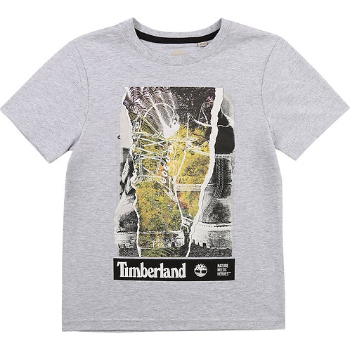 TIMBERLAND T-shirt coton manches courtes