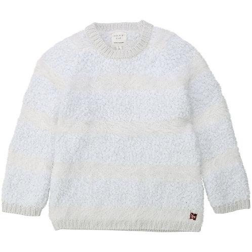 CARREMENT BEAU Pull en tricot point fantaisie