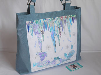 Icicles project bag side