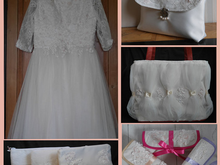 Continuing the Wedding Dress Upcycling Project