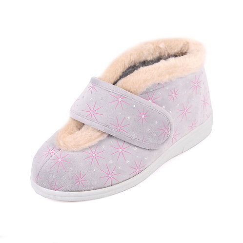 Val Ladies Extra Wide Slippers