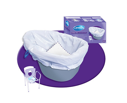 CareBag Commode Liner.