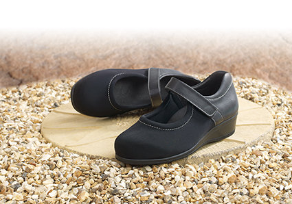 Walmer, Ladies Extra Wide Shoes.