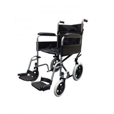 Z-Tec Steel Transit Wheelchair.