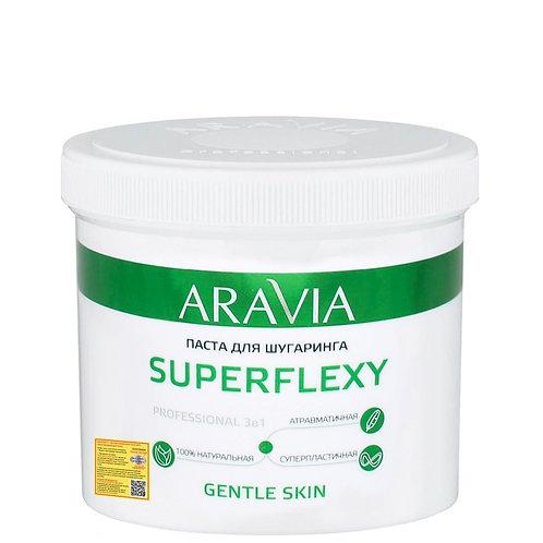 Паста для шугаринга SUPERFLEXY Gentle Skin (Средняя), ARAVIA Professional 750 гр