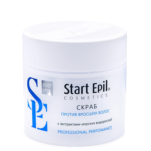 Скраб против вросших волос с морскми водорослями ARAVIA Professional 300 мл