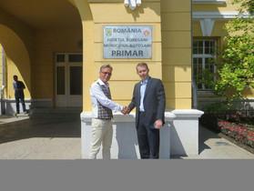 IHRC prepares town twinning Botosani, Romania