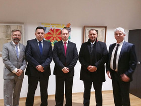 IHRC meets Minister of Finance Macedonia