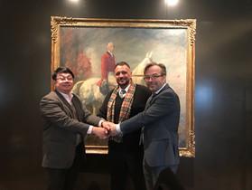 General Secretariat meets IHRC Ambassador Thailand
