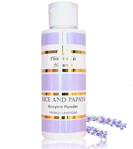 Rice and Papaya Enzyme Powder - French Lavender